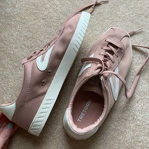 tretorn camden 4 sneakers dusty rose pink nylite